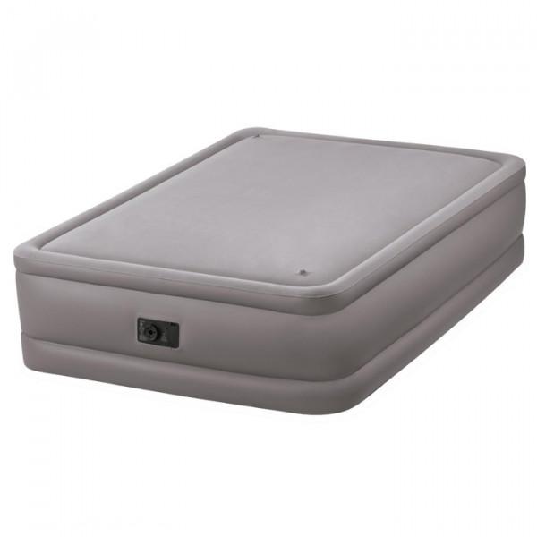 Letto gonfiabile elettrico 2 persone Intex Foam Top Bed Fiber-Tech