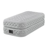 Materasso gonfiabile elettrico a 1 piazza Intex Supreme Bed Fiber-Tech