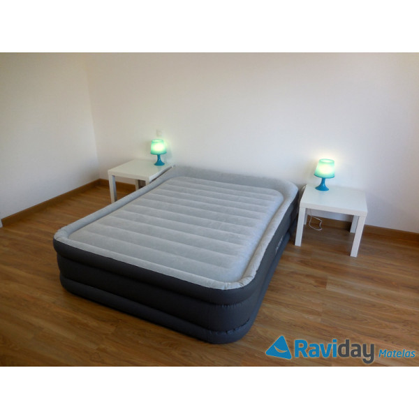 64436 Intex matelas gonflable Rest Bed Deluxe Fiber-Tech