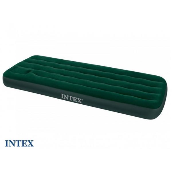 Materasso gonfiabile con pompa integrata Intex Downy 1 persona