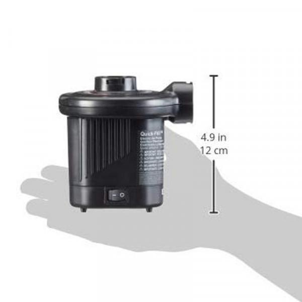 Gonfleur électrique Intex 12/220V Dimensions